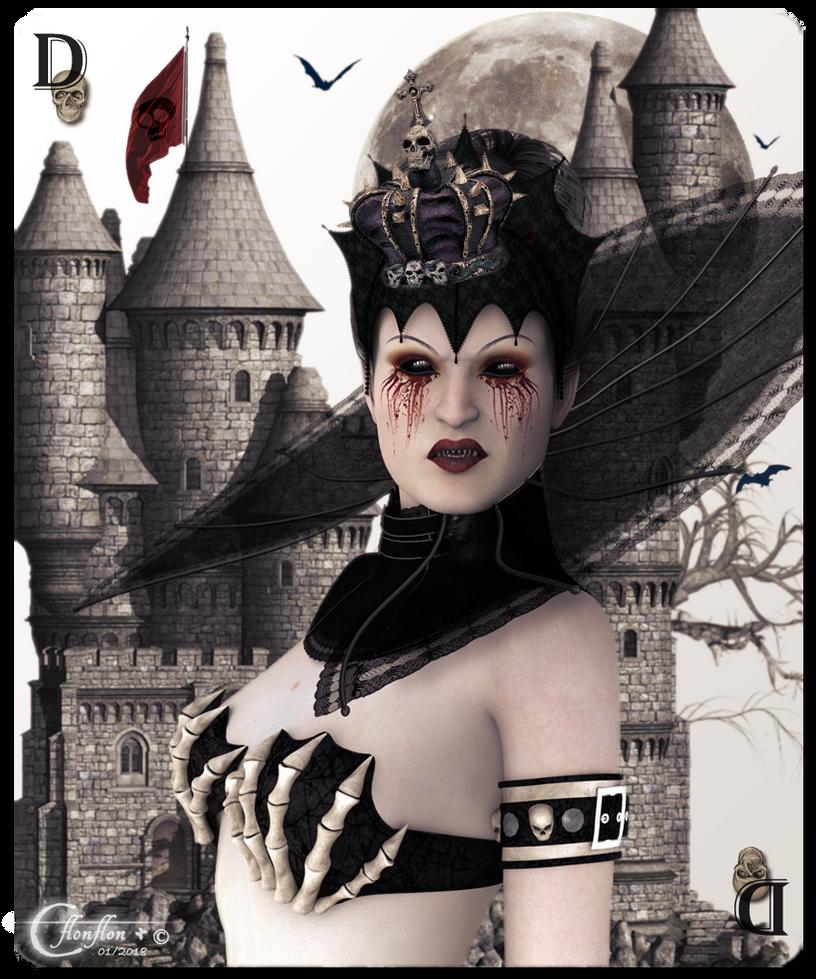 Reine des Ombres by cflonflon