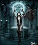 Pretresse Ghost by cflonflon