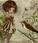 L'oiseau Et L'enfant Vintage