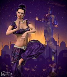 Aladdin contest by cflonflon