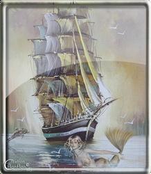 Sirene en tableau by cflonflon