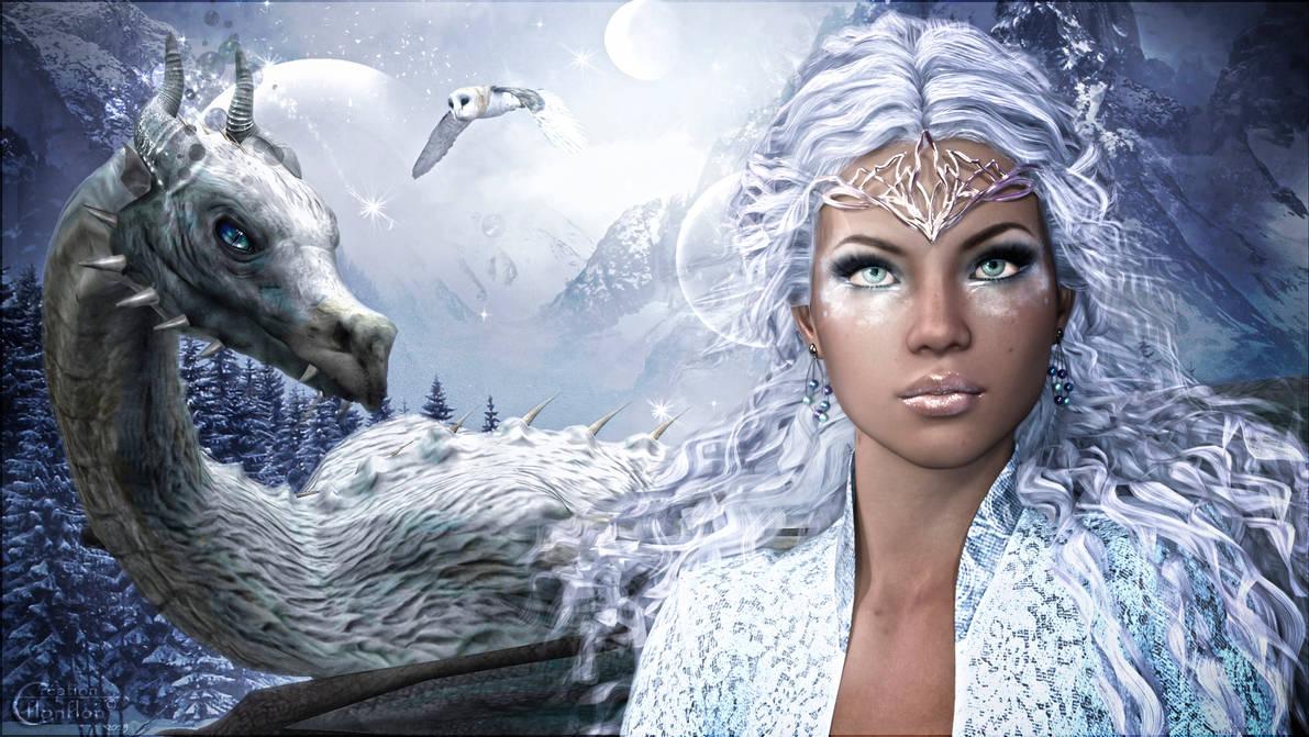 Princesse Winter by cflonflon