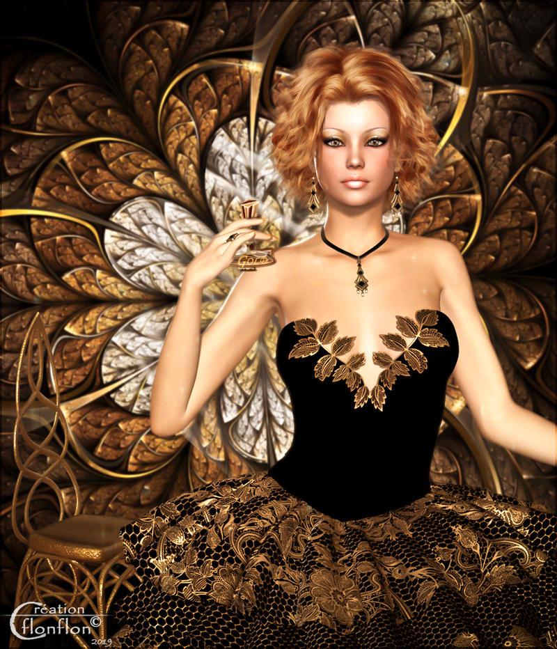 Gold, parfum pour femme