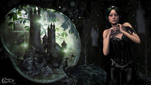 Au chateau de la reine noire by cflonflon