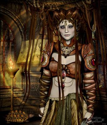 Wizard elfique