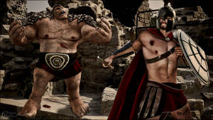 Gladiateur vs Ogre
