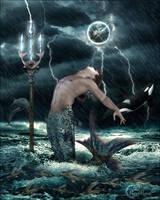 Le Trident de Poseidon by cflonflon