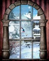 Fenetre de Noel by cflonflon