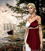 Circe, Deesse d'Ulysse by cflonflon