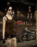 Lara Croft Sims