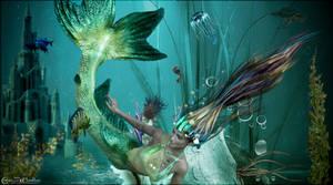 Sirene des fonds marins by cflonflon