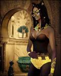 Bastet deesse egyptienne