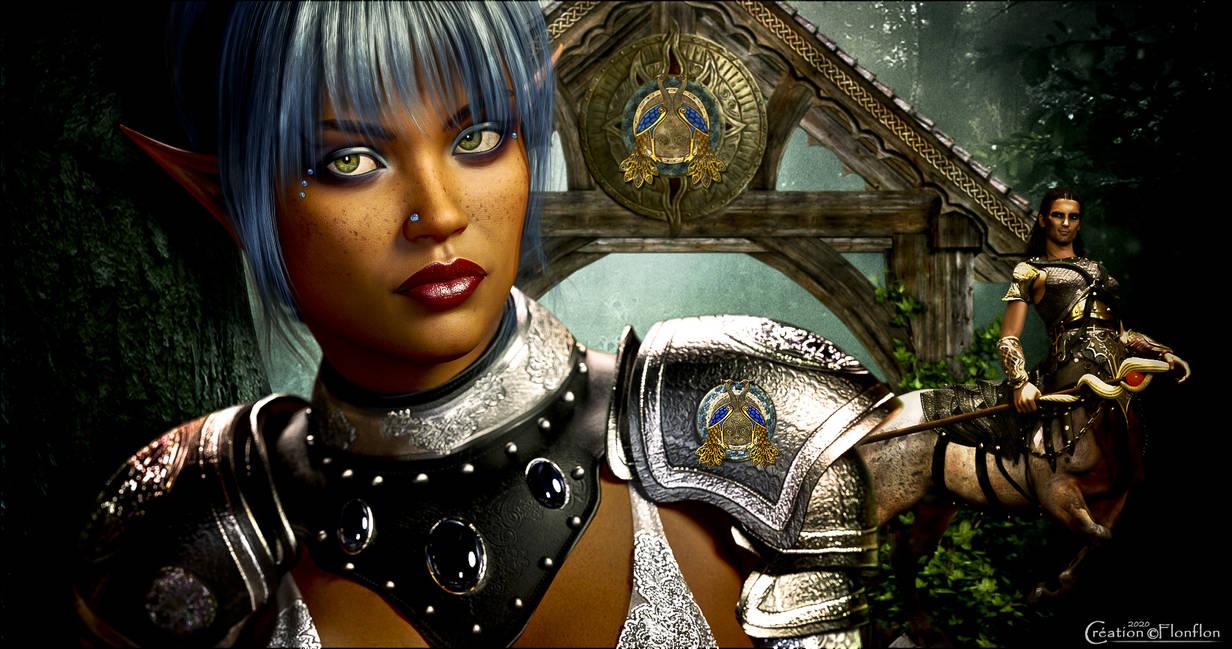 L'elfe bleue