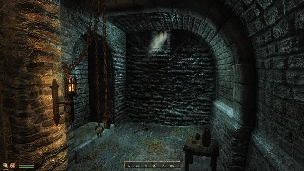 Oblivion - Jail Cell Dark by Seracen on DeviantArt