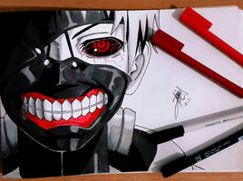 Tokyo Ghoul by Alsgnd