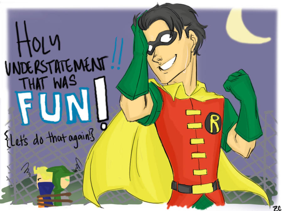 Holy more Robin fanart by DummyPlug7