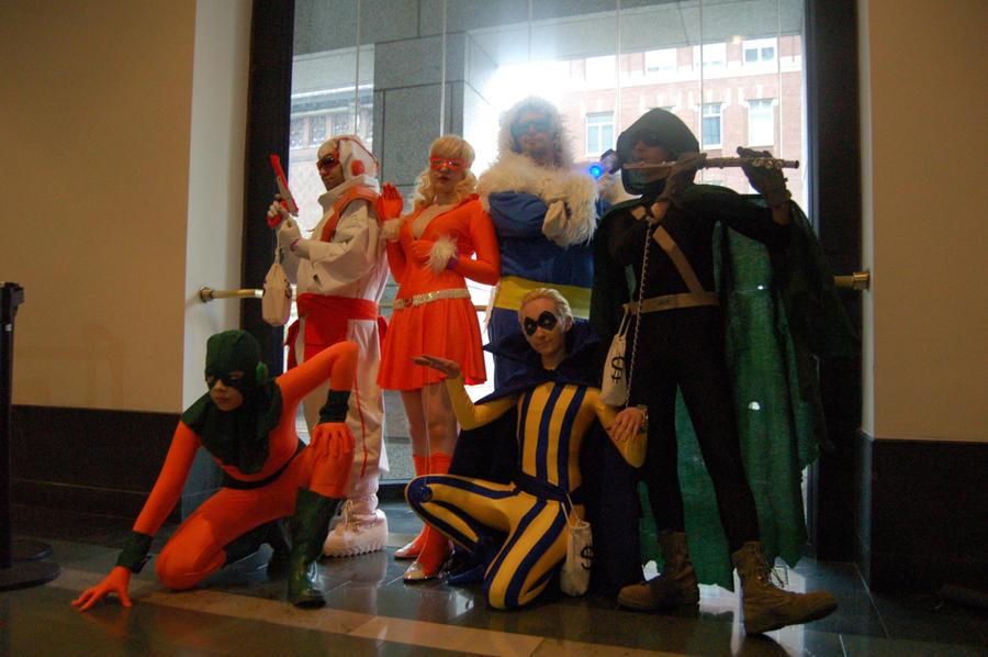 BostonComicCon 2012: Flash's Rogues! by DummyPlug7