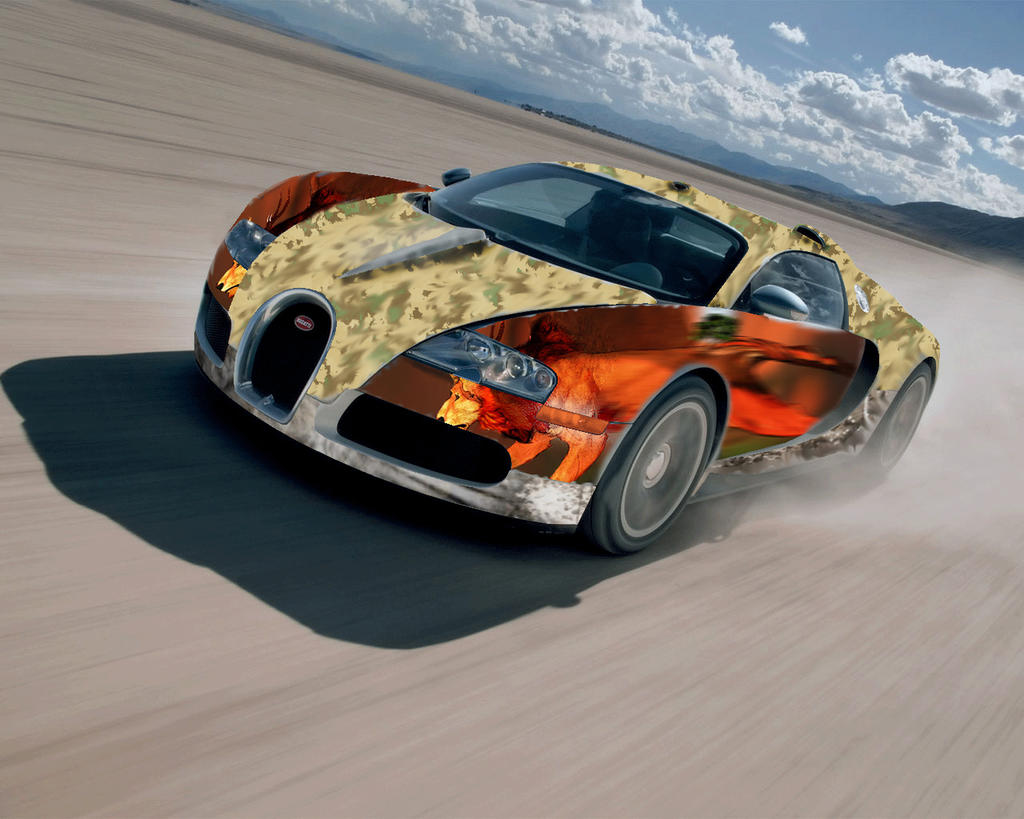 Bugatti Veyron U0027tuningu0027varcolacu On Deviantart