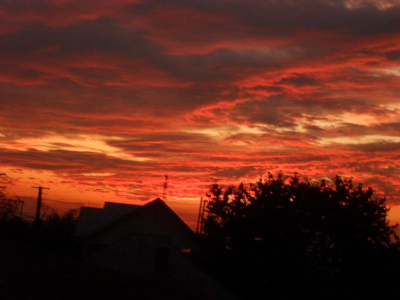 Burning Skies by Varcolacu