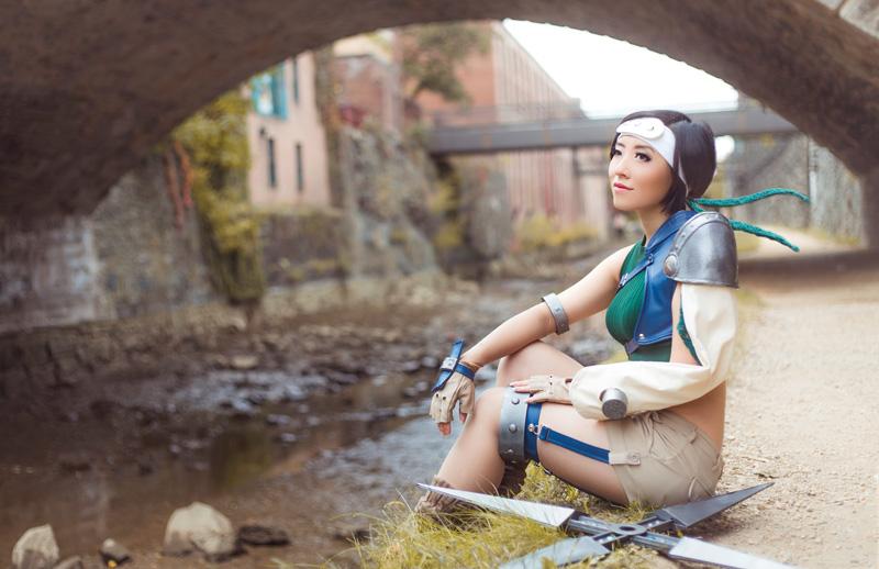 Yuffie by StellaChuu