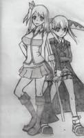 Lucy and Maka