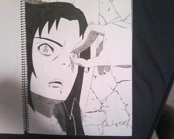 itachi ripping out sasukes eye by Brandy-Lad