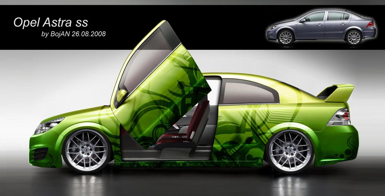 opel astra sedan sport by plazmaplex on deviantart. Black Bedroom Furniture Sets. Home Design Ideas