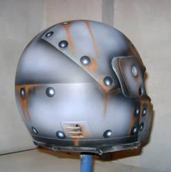 Helmet metal rivets... by plazmaplex