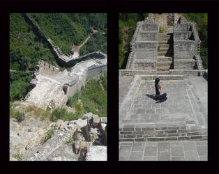 Meditation on the great wall by PrincessTia