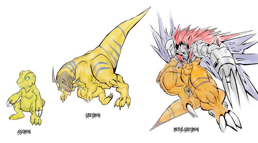 digimon evolution agumon - photo #7
