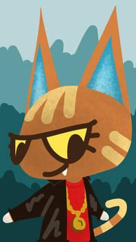Katt From Animal Crossing New Horizons