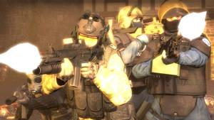 Counter-Terrorist's Medieval Rampage