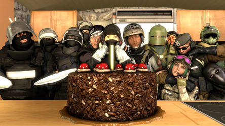 R6S Birthday pic by b2009