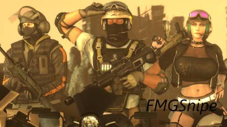 Siege Apocalypse by b2009