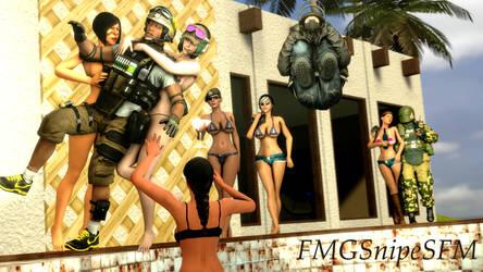 Siege Summer by b2009