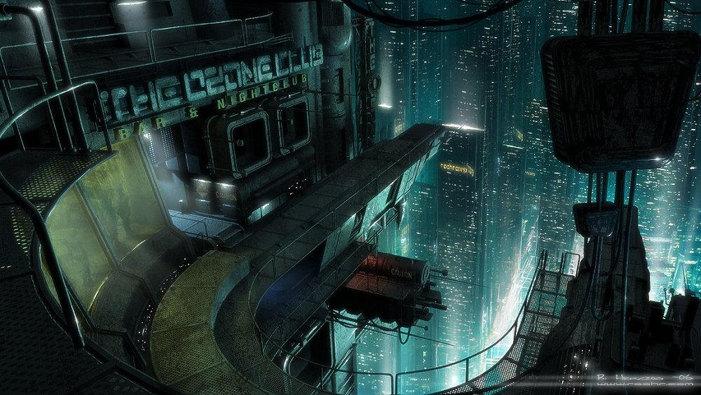 Future World 2 by RudolfHerczog