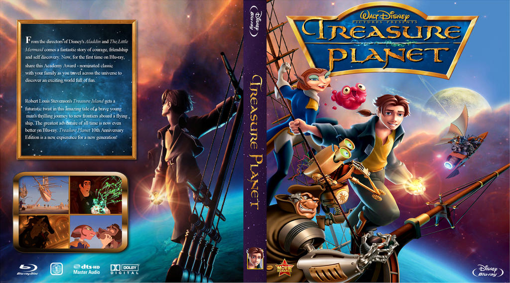 treasure planet dvd - 1024×568