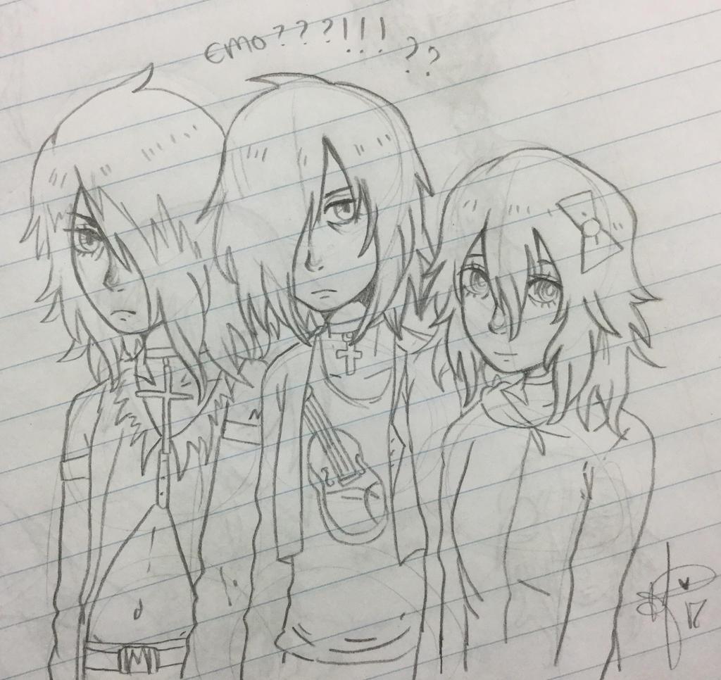 'Emo' Squad by Ayatonic