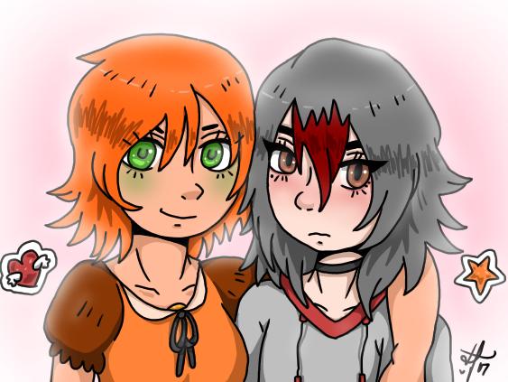 Amber and Rene by Ayatonic