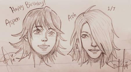 Aspen and Ash by Ayatonic