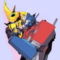 Little Bee and OP by ShoGuru