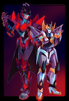 Commission: Shockburner and Callidus
