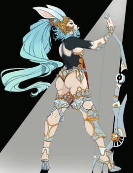 Albino Warrior
