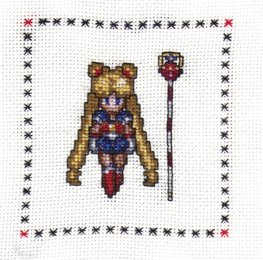 Sailor Moon Cross Stitch by JealaTriumph