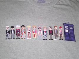 Dr Who Cross Stitch Shirt Pt4 by JealaTriumph