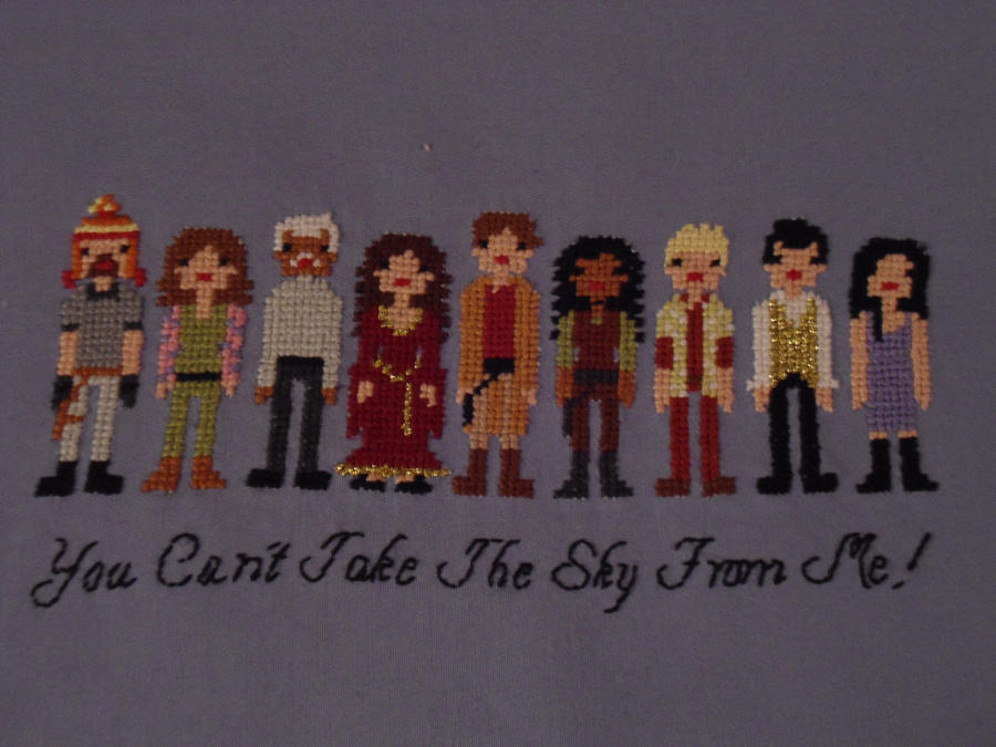 Firefly Cast Cross Stitch Pt3 by JealaTriumph