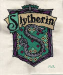 Slytherin Crest Cross Stitch