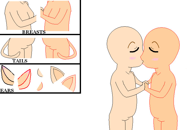 Featured image of post Anime Kissing Drawing Base