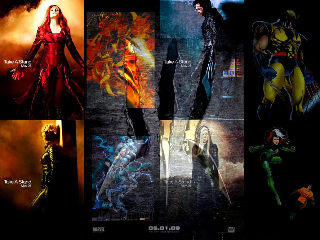 X-men Wallpaper by taz-ing