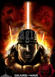 Marcus Fenis Gears of war by magion02